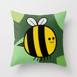 Cutesy Crawlies — Bumblebee Throw Pillow
