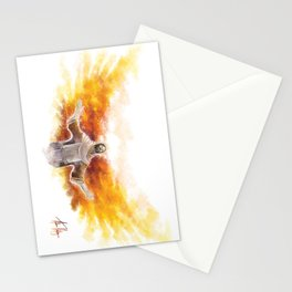 On Wings Like Eagles (Isaiah 40:31) Stationery Cards