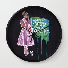 Dresses Are For Everyone Wall Clock