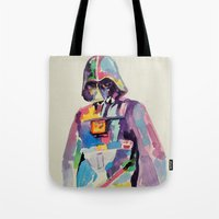 vader Tote Bags featuring vader by kuri