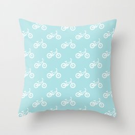 I want to ride my bicycle Throw Pillow