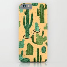 The Snake, The Cactus and The Desert iPhone 6s Slim Case