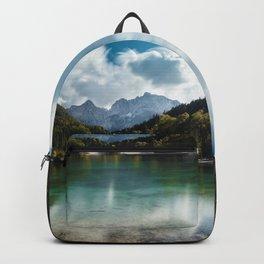 Lake Jasna in Kranjska Gora, Slovenia Backpack