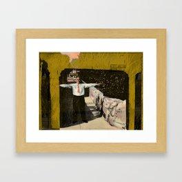 Treasury Street Framed Art Print