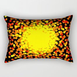 Explosive Rectangular Pillow