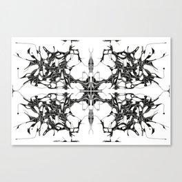 Quad Tree Lateral  Canvas Print