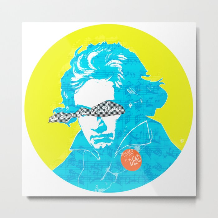 Ludwig van Beethoven 15 Metal Print