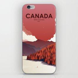 Alone In Nature - RedSky iPhone Skin