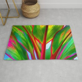 Ti Leaf Series #4 Rug