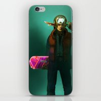 mcfly iPhone & iPod Skins featuring Link McFly by Foxxen