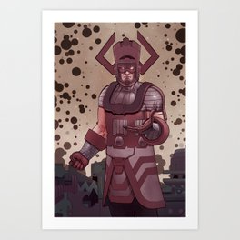 Galactus Art Print