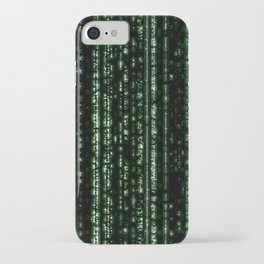 Streaming Mathematical Array iPhone Case