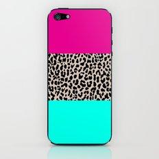 Leopard National Flag iPhone & iPod Skin