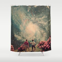 There will be Light in the End Shower Curtain
