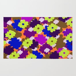 Fall Fun Flowers Rug