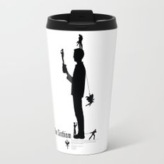 One Sixth Ism (Black Statue) Travel Mug