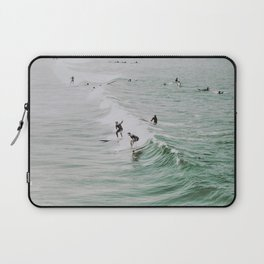 lets surf iv / venice beach, california Laptop Sleeve