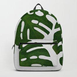 Monstera Leaf III Backpack