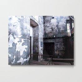 Concrete Walls, 2010 Metal Print