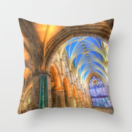 The Cathedral Atmosphere Throw Pillow
