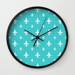 Tiffany Jets Wall Clock