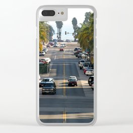 California Street Clear iPhone Case