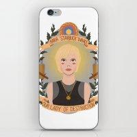 "heymonster iPhone & iPod Skins featuring Kara ""Starbuck"" Thrace by heymonster"