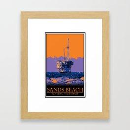 Sands Framed Art Print