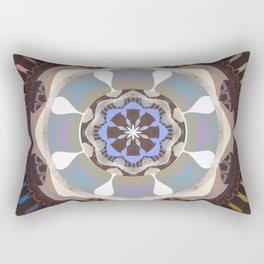 Reverence and Bliss Meditation Mandala Rectangular Pillow
