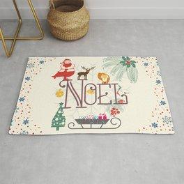 Christmas Noel Rug