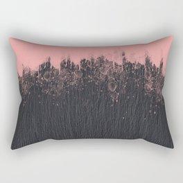 Blackstone and pink Rectangular Pillow