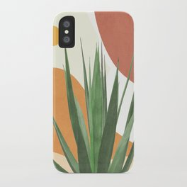 Abstract Agave Plant iPhone Case