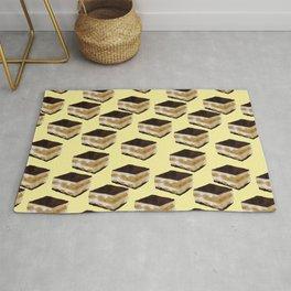 Tiramisu lover // Tiramisu pattern // food pattern Rug