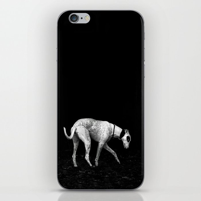 silver shadow iPhone Skin
