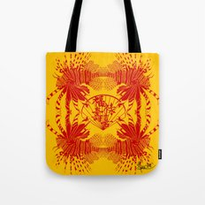 Chinese Cut Out Lion Fish Tote Bag