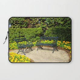Yellow Poppy Garden Laptop Sleeve
