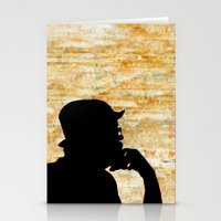 bill Stationery Cards featuring Bill  by virginia odien