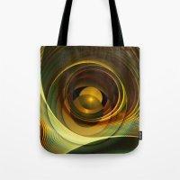 infinity Tote Bags featuring Infinity by Klara Acel