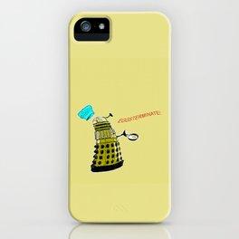 EGGSTERMINATE! iPhone Case