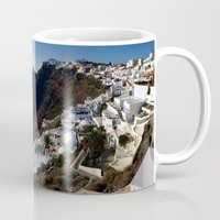 greg guillemin Mugs featuring Caldera View - Greg Katz by Artlala for MSF Doctors Without Borders