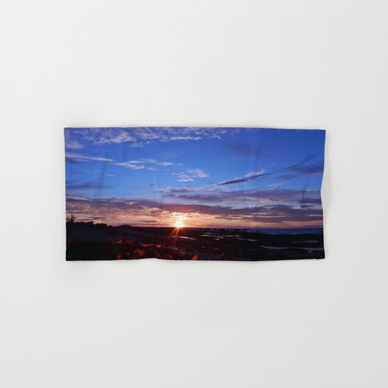 Sunset and Blue Sky Hand & Bath Towel