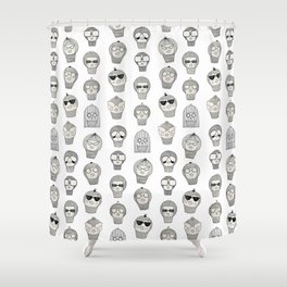 Laura & Friends Shower Curtain