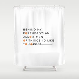war crimes Shower Curtain