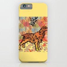 Hunting dog pop art Slim Case iPhone 6s