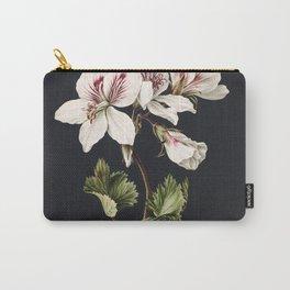 Pelargonium album bicolor by M de Gijselaar(1830) Carry-All Pouch