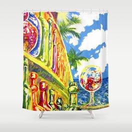 Summer Wine Shower Curtain
