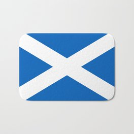 Flag of Scotland - High quality image Bath Mat