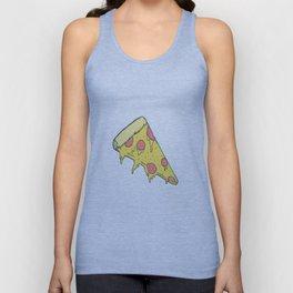 Cheesy Pizza Unisex Tank Top