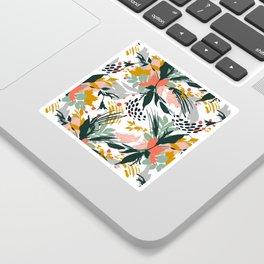 Botanical brush strokes I Sticker