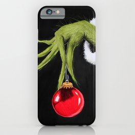 Christmas Grinchmas iPhone Case